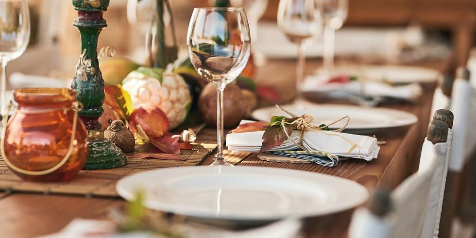 Lær at vera vertur og gera mat til tínar gestir