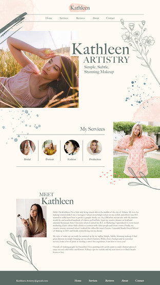 Kathleen Artistry: Home Page
