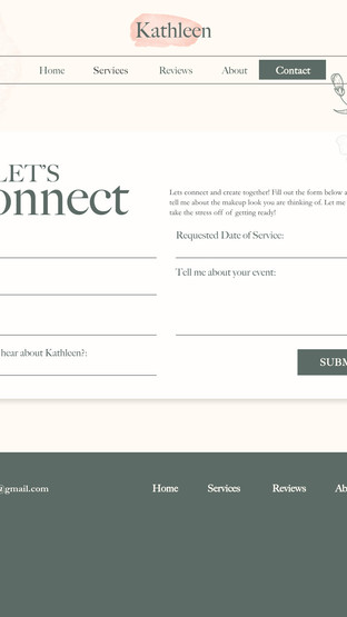 Kathleen Artistry: Contact Form