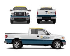 Vacasa Real Estate Vehicle Wrap