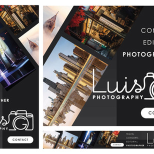 Luis G Photography Banner Ads