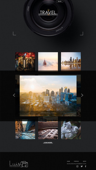 Luis G. Photography - Travel Portfolio Page