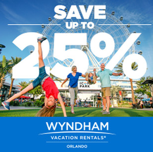 Wyndham Vacation Rentals Banner Ads for Orlando Promotion