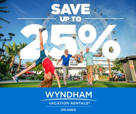 Wyndham Vacation Rentals Orlando Themed Banner Ad Campaign