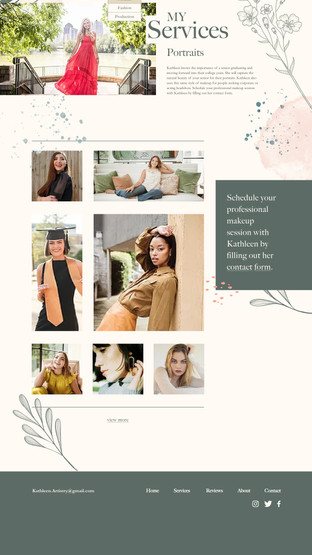 Kathleen Artistry: Portrait Page