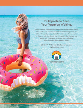Scenic Stays Full Page Print Ads