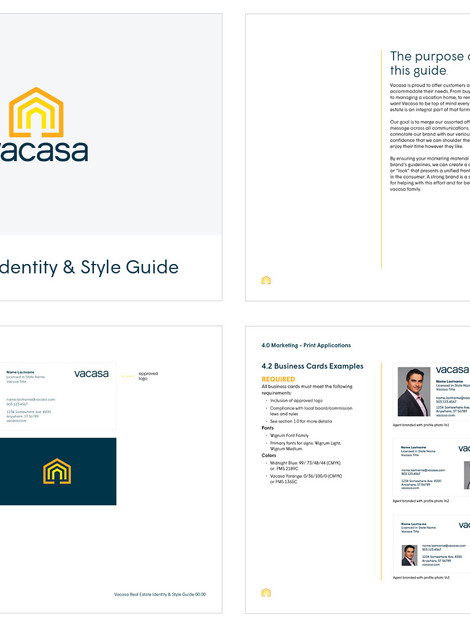 Vacasa Real Estate Brand Guidelines
