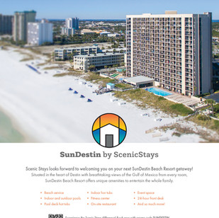 Scenic Stays Full Page Ad