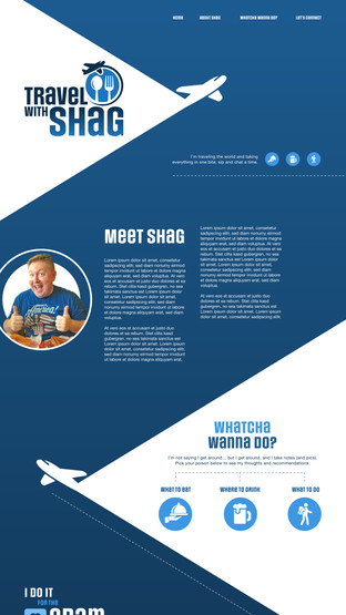 Travel With Shag: Home Page