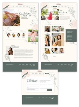 Kathleen Artistry Site UI