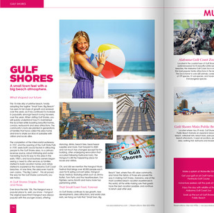 Gulf Shores & Orange Beach Vacation Guide Spread