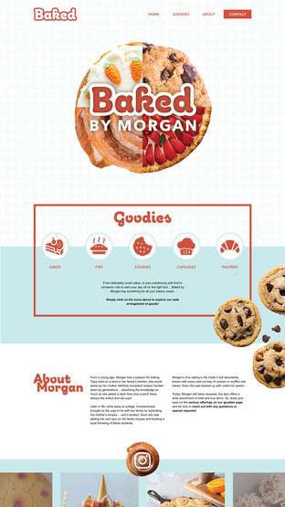 Baked by Morgan: Home Page
