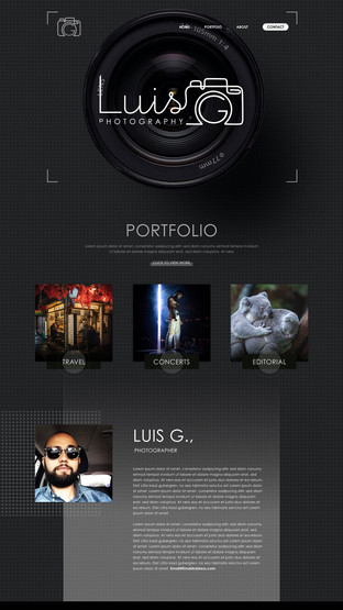 Luis G. Photography - Home Page