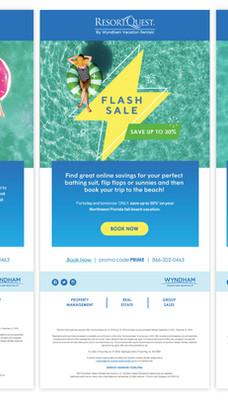 ResortQuest Email Blast Campaign