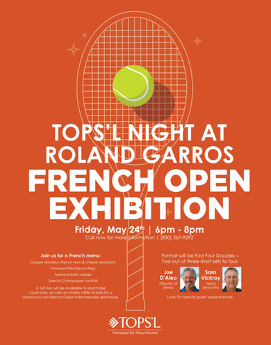 TOPS'L French Open Poster