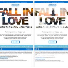 Wyndham Vacation Rentals National Email Blast Campaign