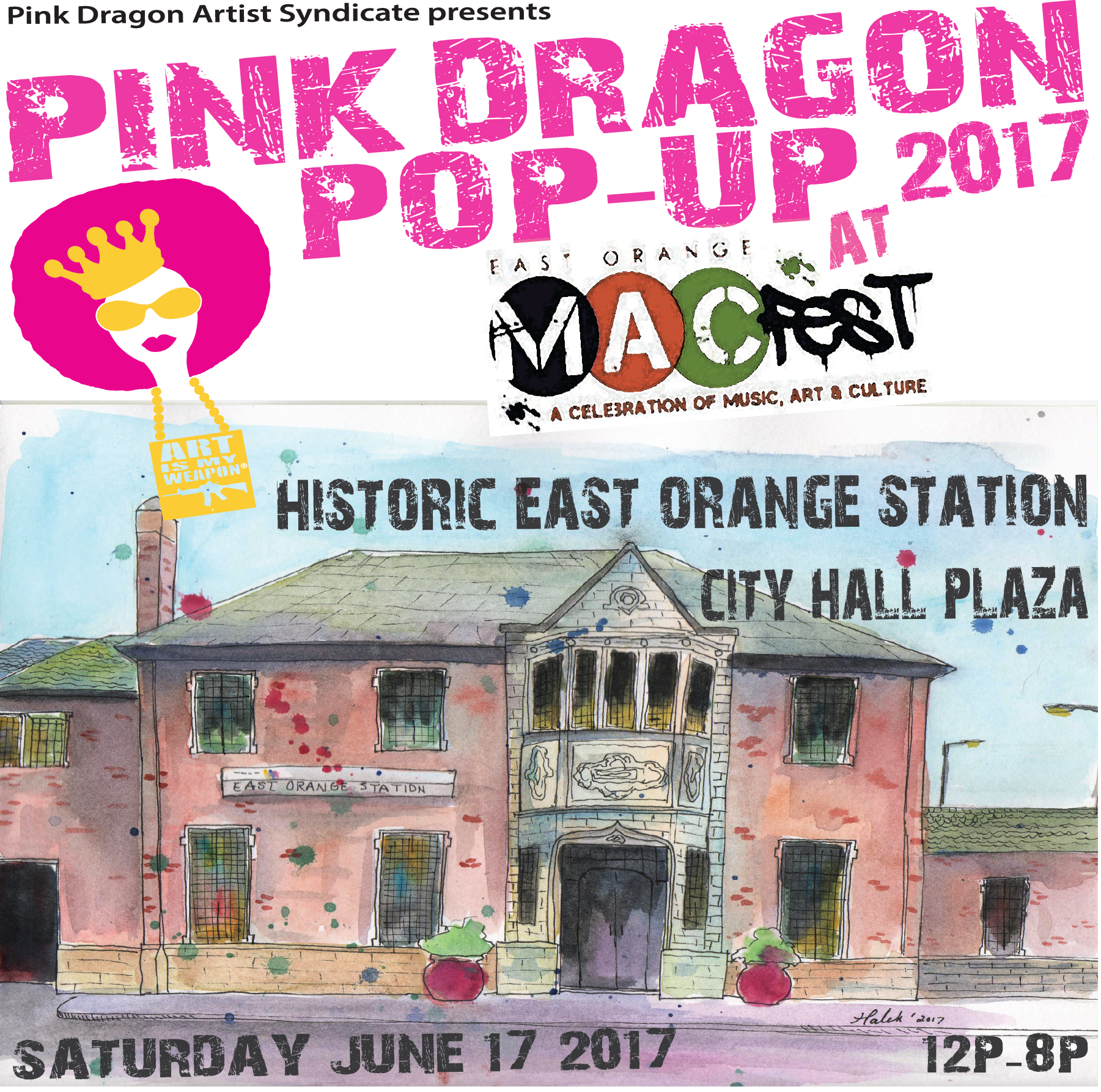 Pink Dragon Pop-Up MACFest 2017