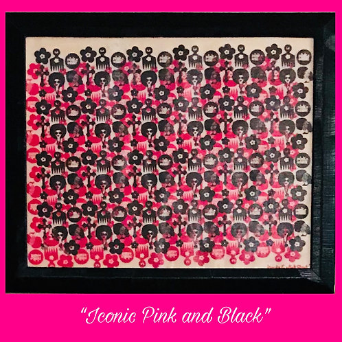 Iconic Pink and Black