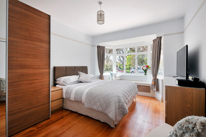 Bedroom refurbishment and full interior design by The Fullest Homes