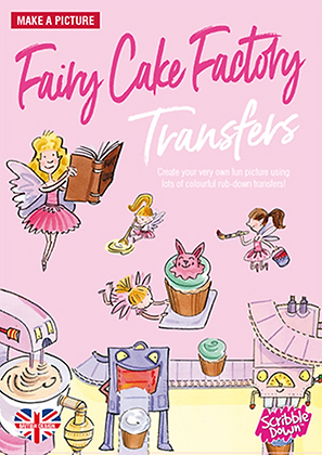 Scribble Down Transfers - Fairy Cake Factory