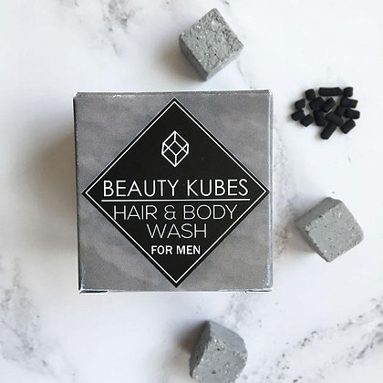 Beauty Kubes Organic Shampoo & Bodywash - For Men