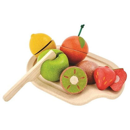 Plan Toys Chopping Fruit Set