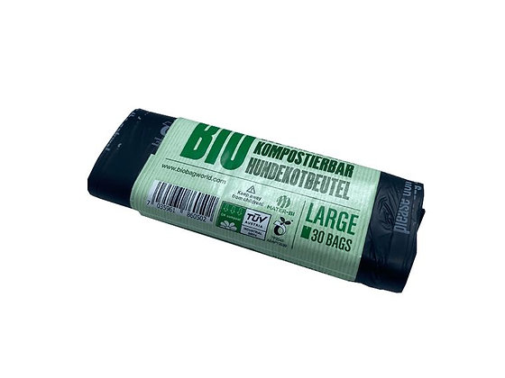 Compostable Dog Waste Bags - 30