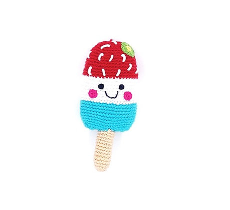 Pebble Rattles - Ice Lolly