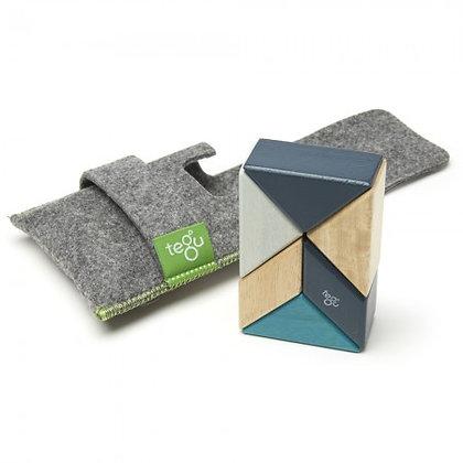 Tegu 6 Piece Magnetic Pocket Pouch - Blues