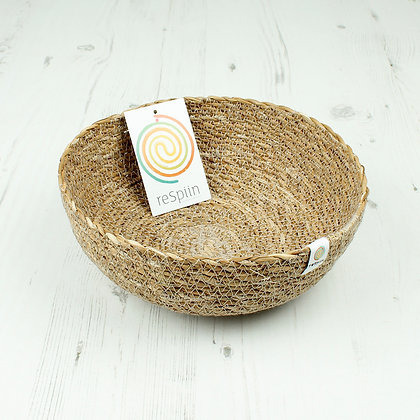 Respiin Seagrass Medium Bowl - Natural