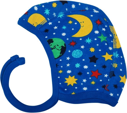 Duns Mother Earth Helmet Hat/Bonnet - Blue