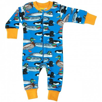 Duns Duck Pond Zip Suit - Blue