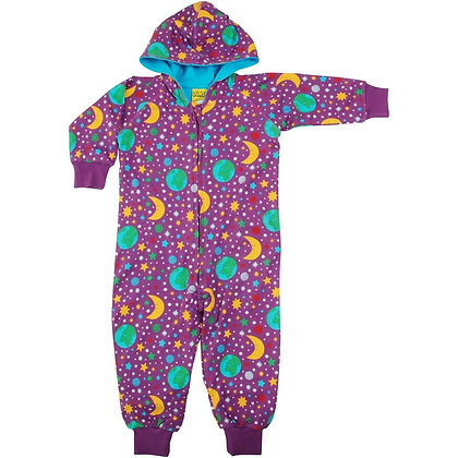 Duns Mother Earth Hooded Lined Suit - Purple