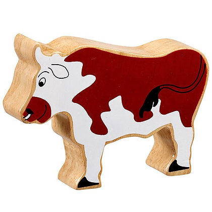 Lanka Kade Natural Wooden Brown Bull NC115