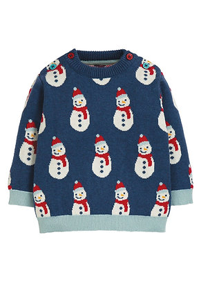 Frugi Jolly Knitted Christmas Jumper