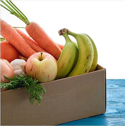 Organic Veg Box Subscription - Free Delivery to LL15, LL16, LL21, CH7