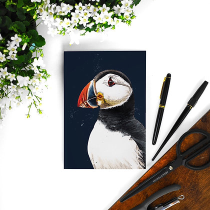 Some Ink Nice A5 Notebook - Puffin