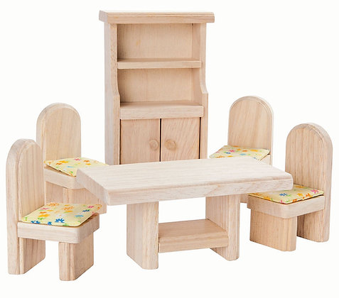 Plan Toys Dolls House Accessory - Dining Room 9012
