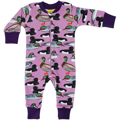 Duns Duck Pond Zip Suit - Violet