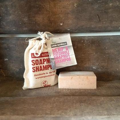 Hemp & Patchouli Soapnut Shampoo Bar