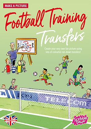 Scribble Down Transfers - Football Training
