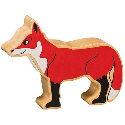 Lanka Kade Natural Wooden Red Fox NC131