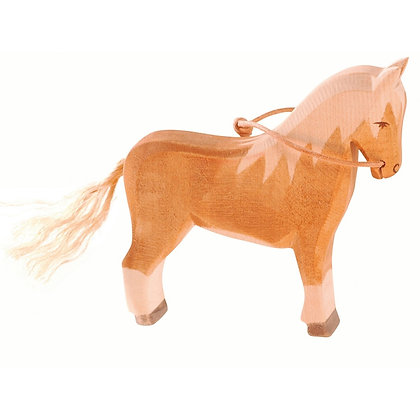 Ostheimer Handmade Wooden Haflinger Horse 11113