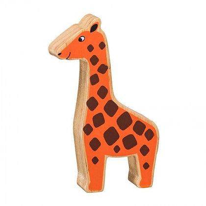 Lanka Kade Natural Wooden Orange Giraffe NC252