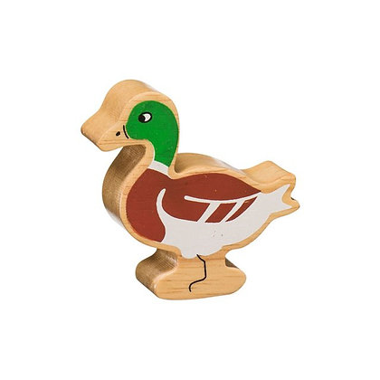 Lanka Kade Natural Wooden Brown Duck NC130