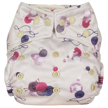 Baba and Boo Reusable Cloth Nappy One Size - Various