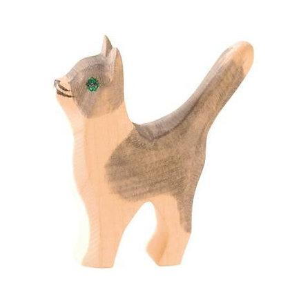 Ostheimer Handmade Wooden Cat 11407
