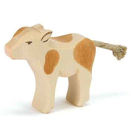 Ostheimer Handmade Wooden Brown & White Calf 11024