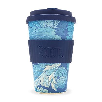 Ecoffee Cup 14oz Reusable Coffee Cup - William Morris Designs