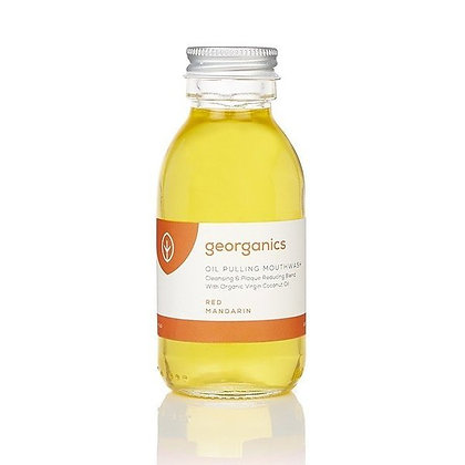 Georganics Oil Pulling Mouthwash - Red Mandarin (Kids) 100ml
